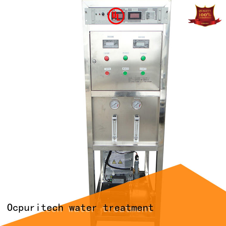 The 500lph EDI electrical deionized water treatment system