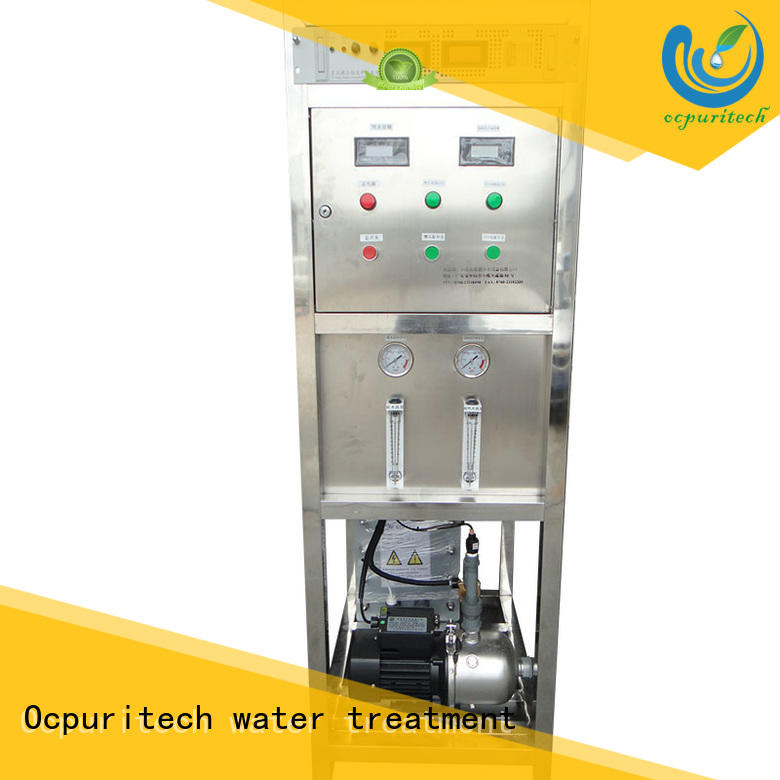 edi water system product ultrapure water resistance up to 18 MΩ・cm 300lph-50000lph Capacity Ocpuritech Brand electrodeionization