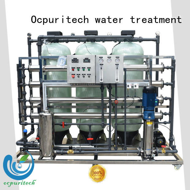Ocpuritech ro water plant wholesale for seawater