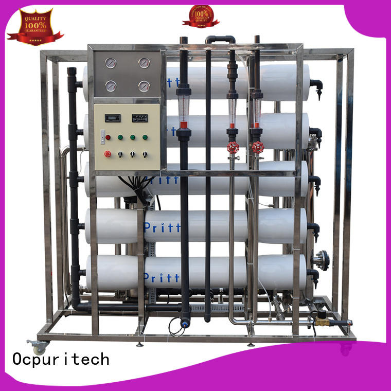 Ocpuritech filtration ro plant price personalized for seawater