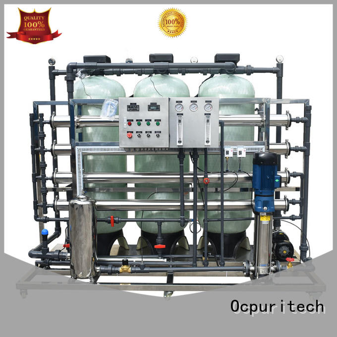 system reverse osmosis water filtration system Fivestar Hotel Ocpuritech