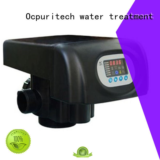 Ocpuritech Brand NSF,CE Certificate flow control valve LED colorful screen factory