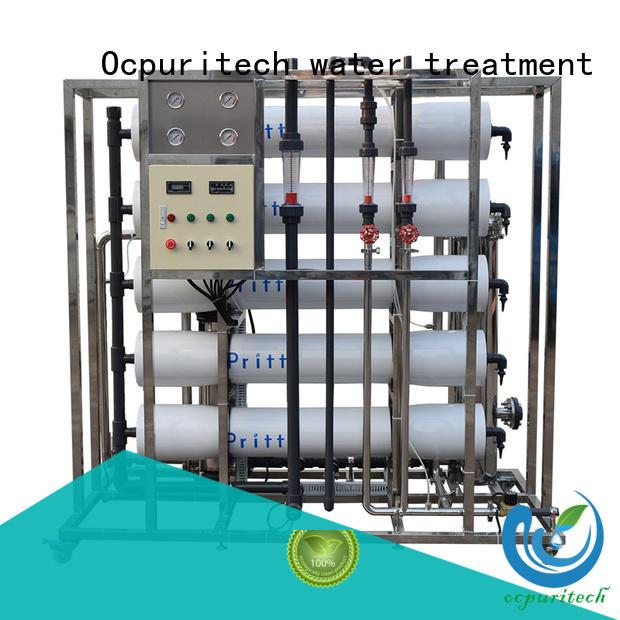 Recovery 45%-70% Dow RO Membrane CNP pump ro machine Vontron Ocpuritech