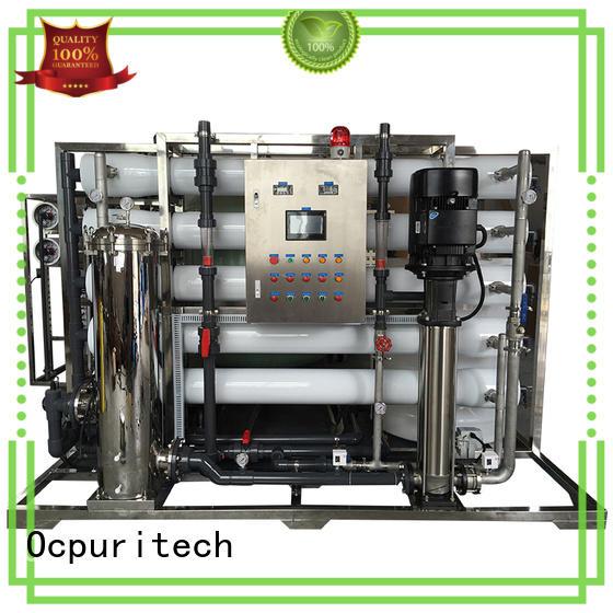 Hot ro water filter school Ocpuritech Brand