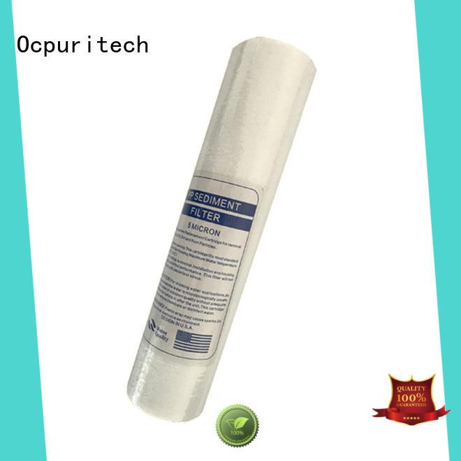 Ocpuritech industrial home depot water filter cartridge for business