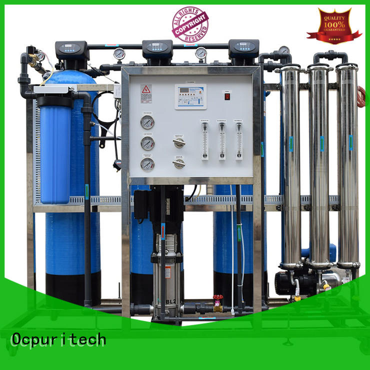 Ocpuritech industrial ro water plant factory price for agriculture