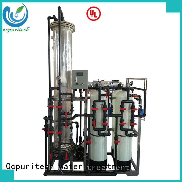 Ocpuritech commercial di water filter design for household