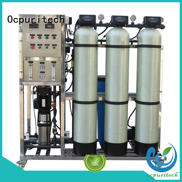 Ocpuritech reliable reverse osmosis system cost personalized for seawater