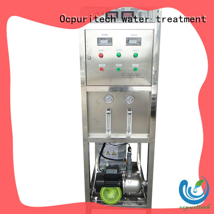 edi water treatment Hotel Ocpuritech