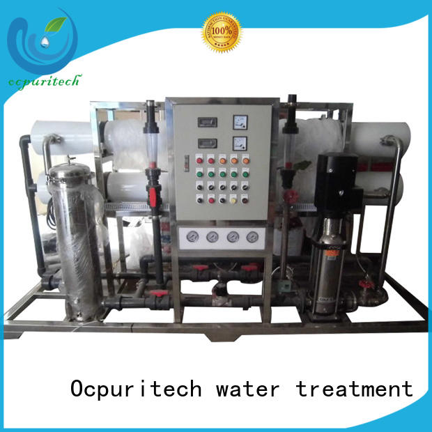 Ocpuritech durable reverse osmosis plant personalized for seawater