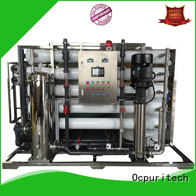 Ocpuritech reliable ro water plant price for seawater