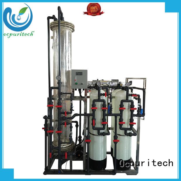 ion deionizer resins Hotel Ocpuritech