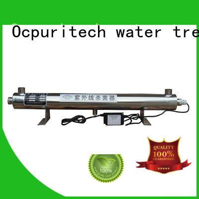 uv sterilizer filter factory for fivestar hotel Ocpuritech