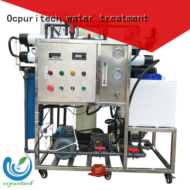 Ocpuritech industrial seawater desalination system manufacturer for industry