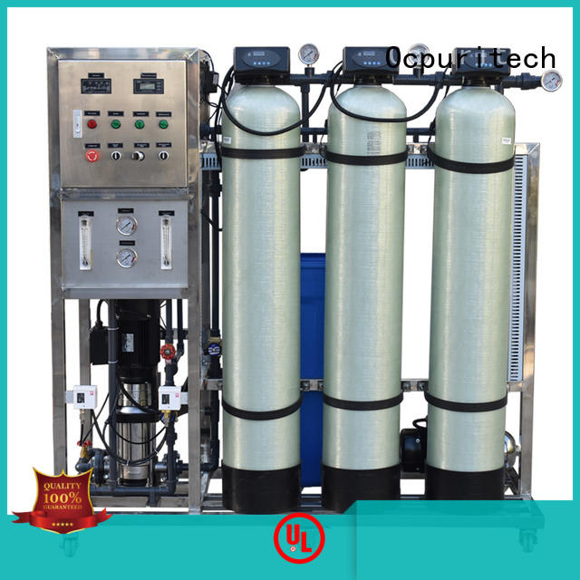 Popular reverse osmosis system 250liter per hour for drinking water China factory