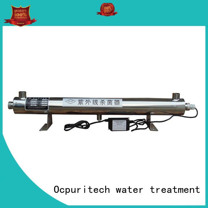 55W UV lamp without any chemicals kills Glass tube uv sterilizer Ocpuritech