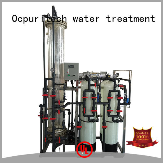 quality deionized water filtration system plant design for household