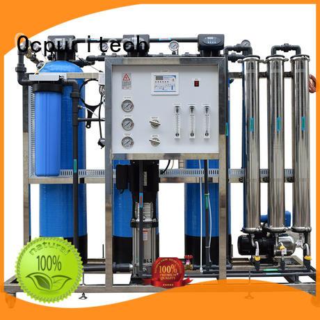 treatment plant ro machine 250 liter Ocpuritech Brand