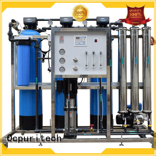 Ocpuritech water systems company supplier for food industry
