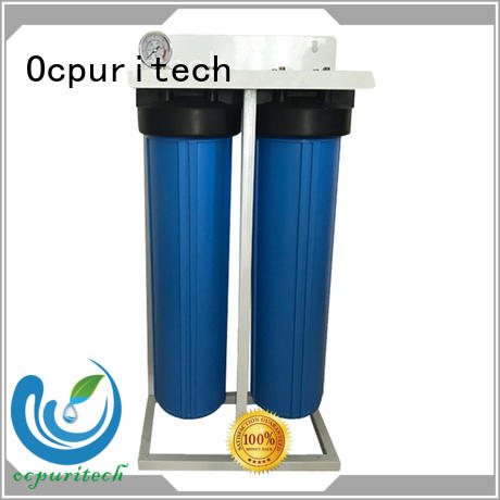 blue pretreatment water filtration system separation Ocpuritech company