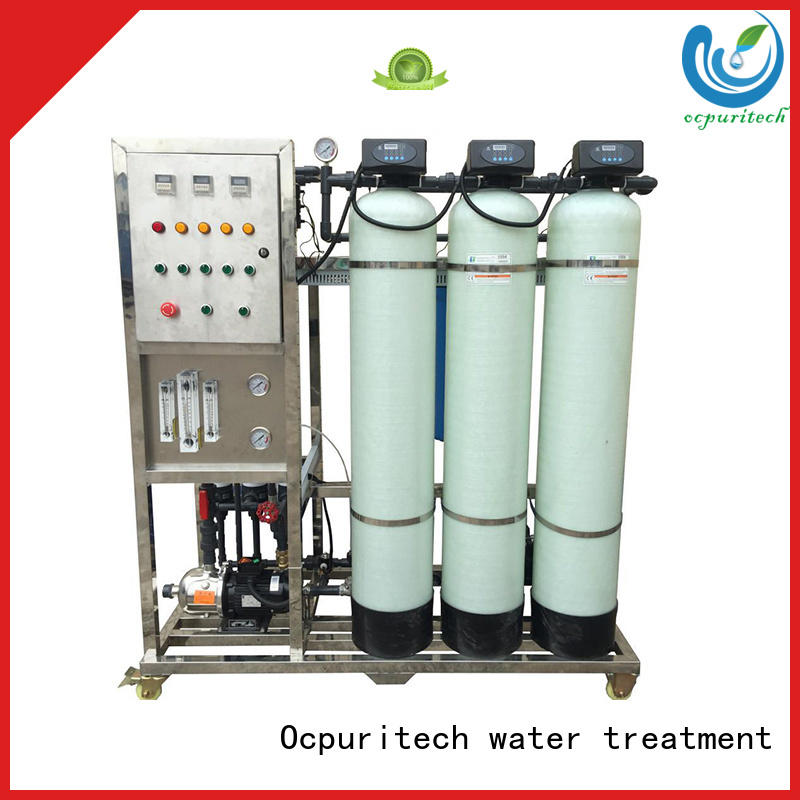 Ocpuritech Brand factory price UPVC Inlet/outlet pipes&valves Schneider Relay,AC Central controlling system removes suspended or particulate matters ultrafilter