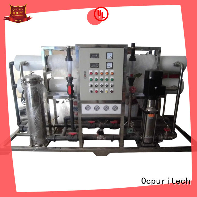 ro system supplier for seawater Ocpuritech