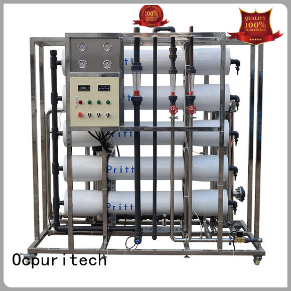 Ocpuritech 250lph reverse osmosis system cost supplier for seawater