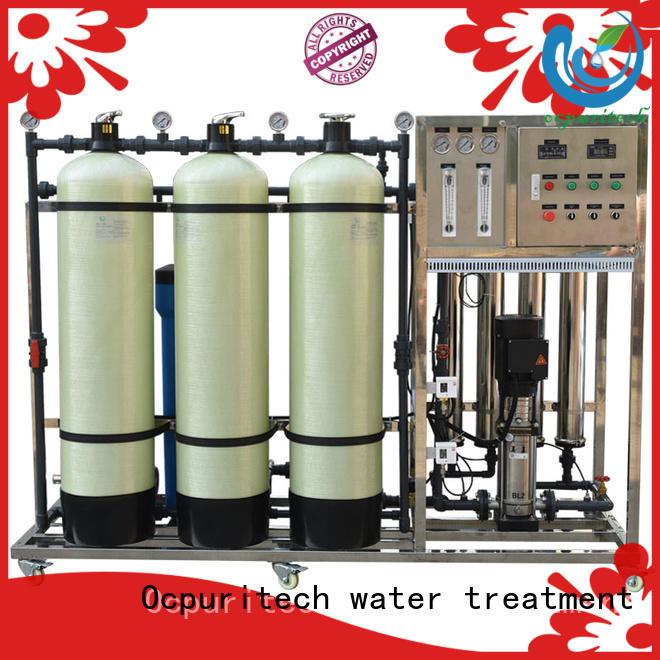 reverse osmosis water purifier supplier for four star hotel Ocpuritech