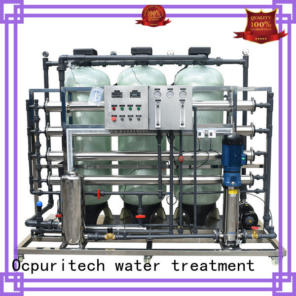 Ocpuritech Brand membrane plant filtration custom ro water filter