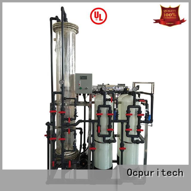 resins deionizer factory for business