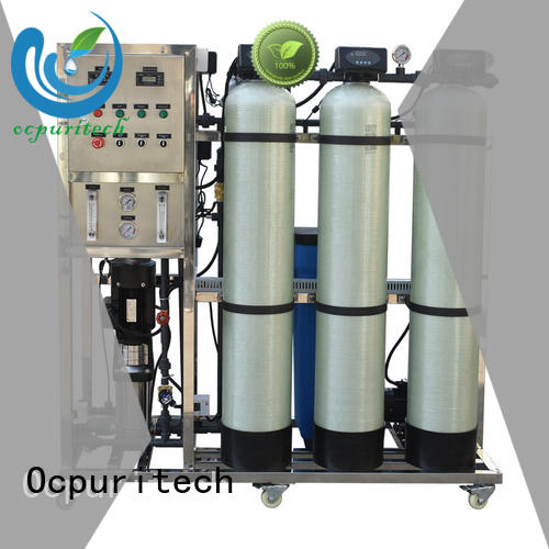 Ocpuritech stable well water filtration system supplier for food industry