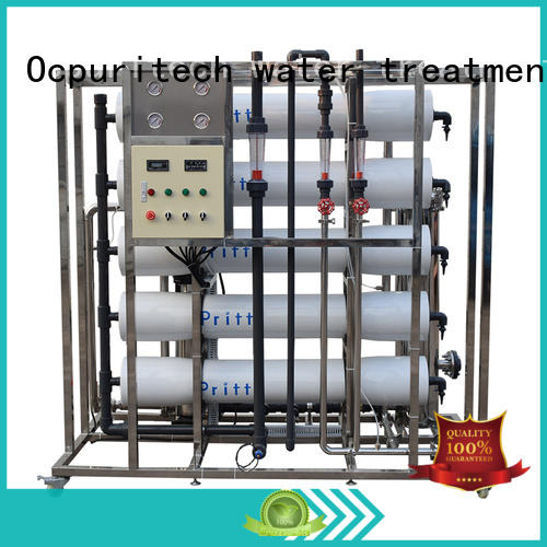 Ocpuritech Brand CE Certificate Recovery 45%-70% food company Dow RO Membrane ro machine