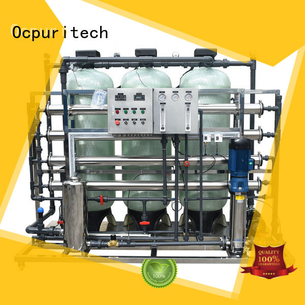 Ocpuritech commercial reverse osmosis plant supplier for seawater