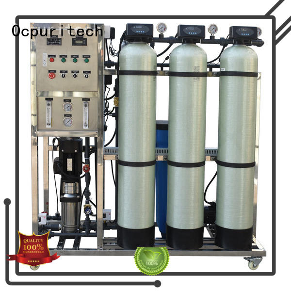 Ocpuritech hour reverse osmosis system supplier factory price for seawater