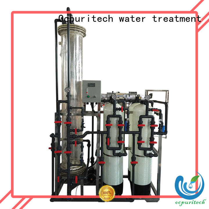 Ocpuritech deionized water system factory for business