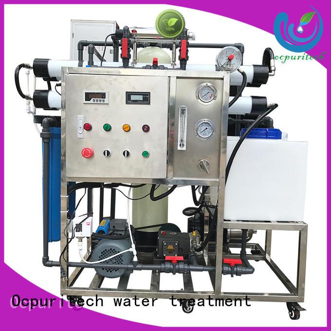 seawater desalination 200lh for four star hotel Ocpuritech