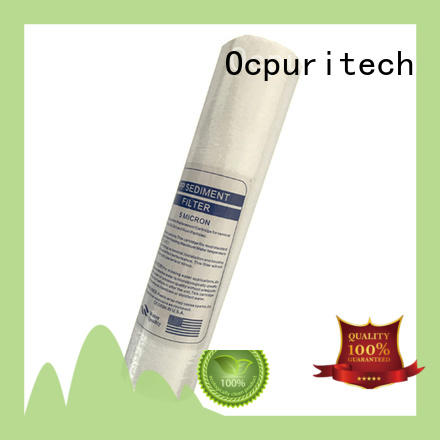 Ocpuritech professional well water sediment filter factory for medicine