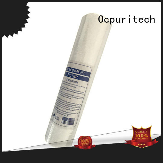 water cartridge carbon manufacture Ocpuritech