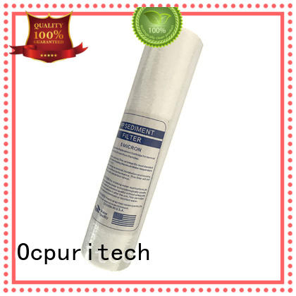 Ocpuritech commercial well water sediment filter design for household