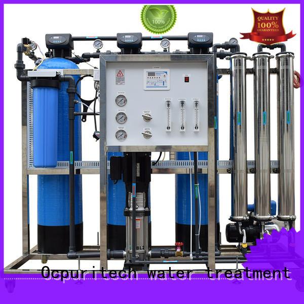 Ocpuritech Brand Desalination 96%-99% Vontron ro machine manufacture