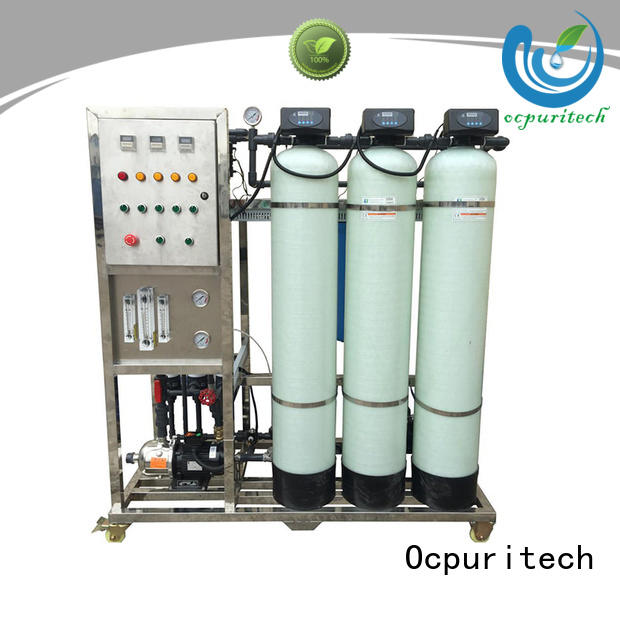 remove impurities water stainless steel treatment purification ultrafiltration system Ocpuritech Brand