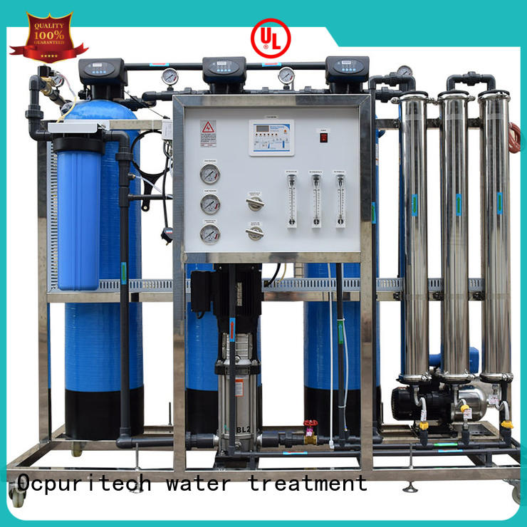 Ocpuritech reverse osmosis plant supplier for food industry