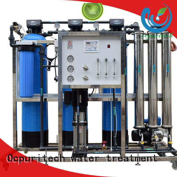 Ocpuritech 250lph reverse osmosis unit for agriculture