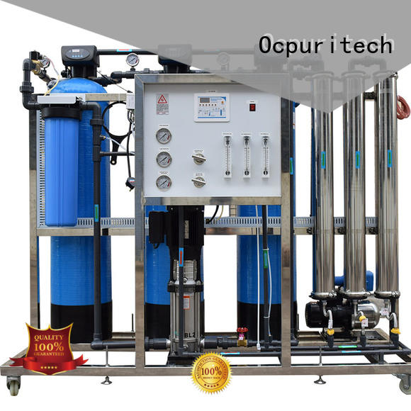 Ocpuritech industrial ro water plant wholesale for seawater