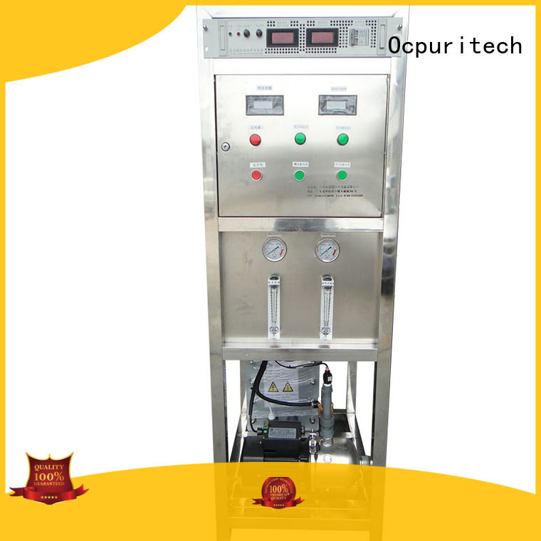 500lph electrodeionization osmosis personalized for food industry