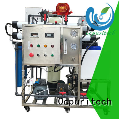 32% Recovery Low power consumption OEM seawater desalination Ocpuritech