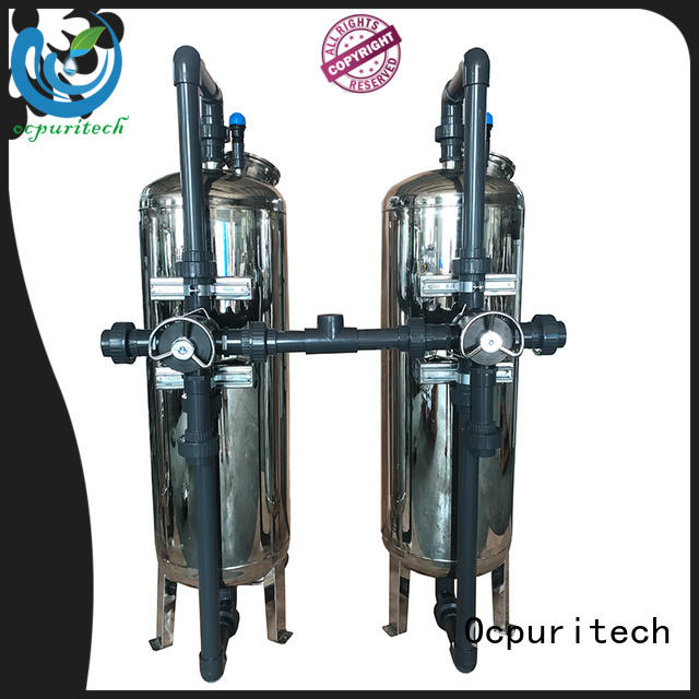 High strength SS 304 Mechanical Sand and carbon Filter