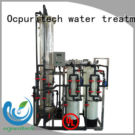 Ocpuritech industrial deionized water system inquire now for business