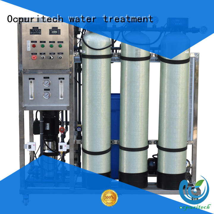 Ocpuritech Brand hospital Vontron CE Certificate custom ro water filter
