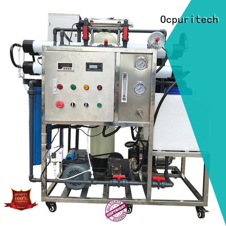 Ocpuritech water desalination from China for factory